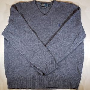 Polo by Ralph Lauren V-neck Sweater XL